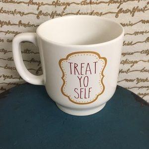 Treat Yo Self Ceramic Coffee or Tea Mug